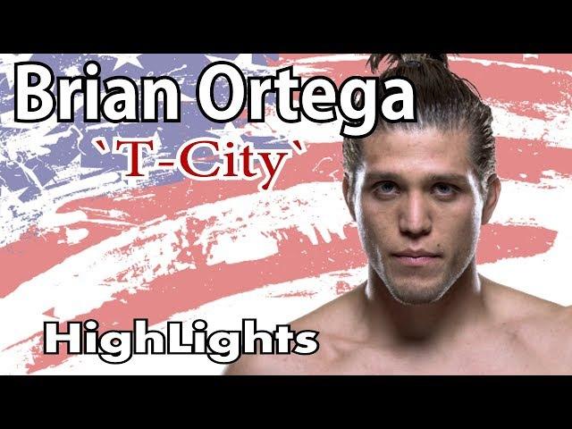 Brian Ortega Highlights UFC RFA KO