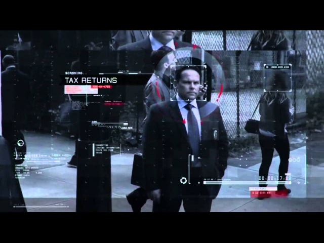 Person of Interest opening intros [1-4]