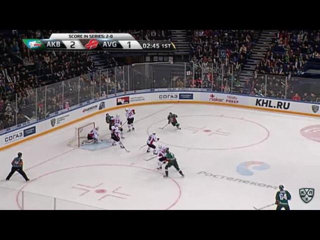 Моменты из матчей КХЛ сезона 16/17 • Гол. 3:1. Глинкин Антон (Ак Барс) в пустой угол замкнул 13.03