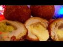 Мясные бомбочки Новогодние цыганка готовит. Котлеты с сыром. Gipsy cuisine.