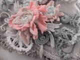 Работа над свадебным платьем в стиле Рококо. Мои работы. Ирландское кружево.