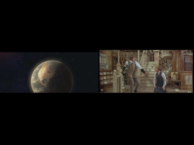 WALL•E Hello, Dolly Out There Comparison