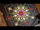 How to paint dot mandalas with Kristin Uhrig 32- Triple Rose Bud