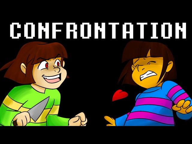 Undertale - Confrontation Frisk Chara (Vocal Cover) Thank you for 25k Subs!!