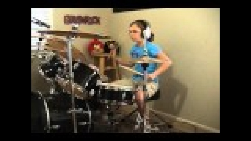 Foreigner Juke Box Hero A Drum Cover By Emily