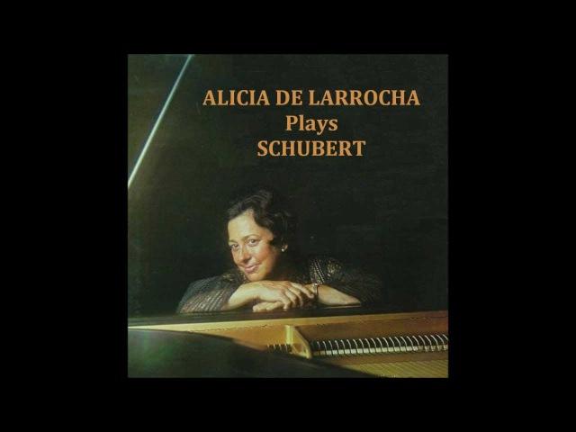 Алисия де Ларроча Шуберт Соната №13 A dur Op.120/D.664