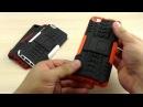 ОБЗОР: Комбинированный Противоударный Чехол-Накладка для Xiaomi Mi5 с Подставкой