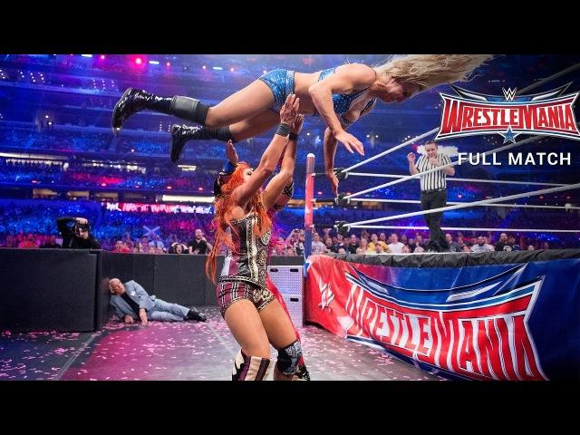 FULL MATCH - Charlotte vs. Sasha Banks vs. Becky Lynch - WWE Women's Title Match: WrestleMania 32