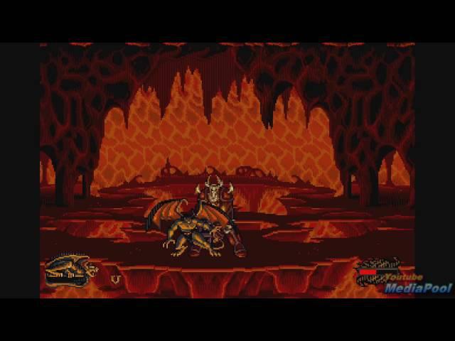 1995 Gargoyles (Sega Genesis) Game Playthrough Video Game 60fps