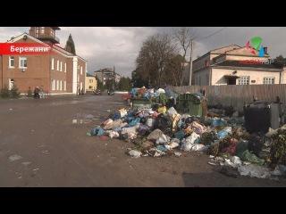 Бережани у смітті через недобросовісного перевізника