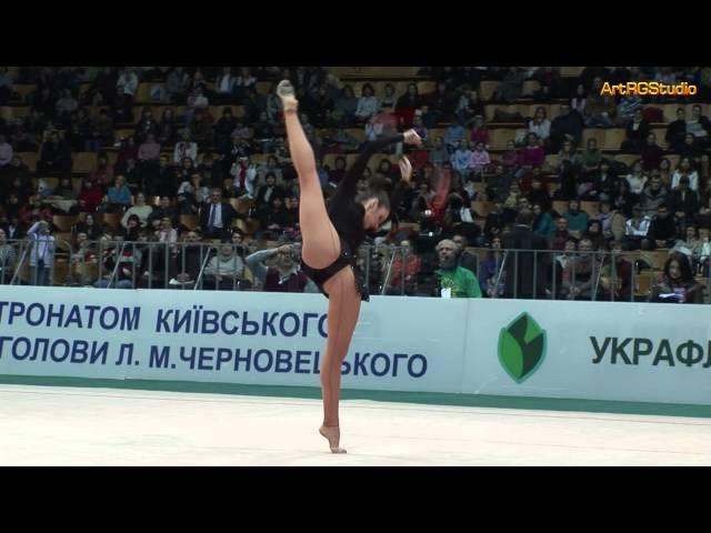 BESSONOVA Anna (UKR) Clubs - 2008 World Cup Kiev Deriugina Cup 2008-03-22