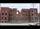 Снос здания бывшего Оберлицея имени Гёте 20 01 2018