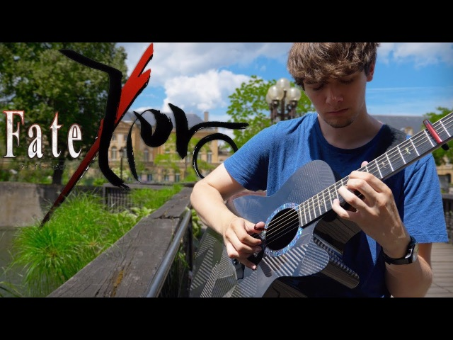 Fate/Zero Ending 1 - Memoria (Guitar Cover by Eddie van der Meer)