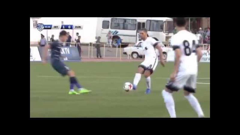 Irtysh Pavlodar - Dunav Ruse 1-0. Football. Europa League. Goal Igor Bugaev 29.06.2017