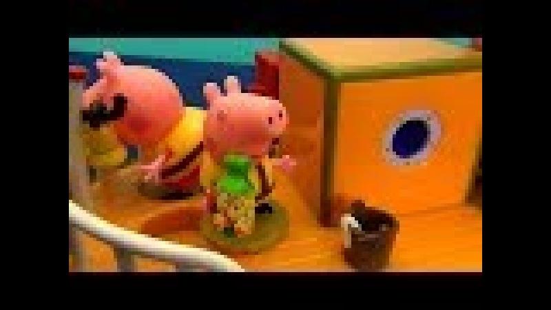 Peppa Pig en français Peppa et George vont en bateau avec Grandpa Pig Peppa Pig rencontre Monster