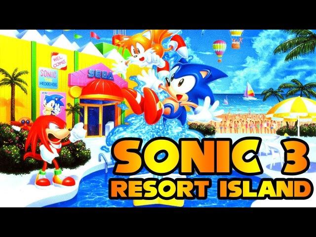 [TAS] Sonic 3 Resort Island - Runthrough as (Sonic Tails)