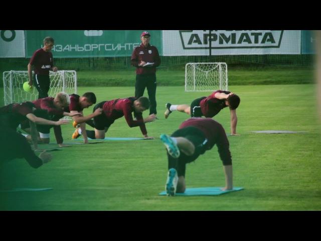Открытая тренировка перед матчем Зенит Рубин