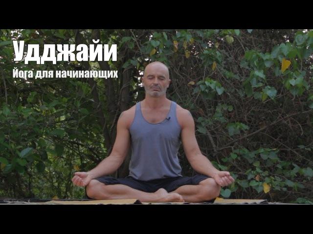 Удджайи пранаяма Йога для начинающих