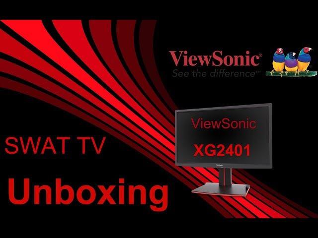 ViewSonic XG2401 24 inch 144Hz Full HD Unboxing