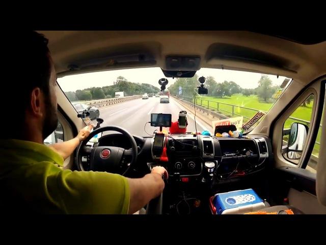 Modern psy trance Jean Jarre style - Autobahn Life. Calypso Extreme Walking Drive travel mix