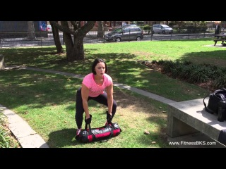 10 Power Bag/Sandbag Exercise with Van Beest - Fitness BKS