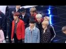 """171101 방탄소년단(BTS),엑소(EXO)""""Butterfly"""" 백현,뷔 친목 엔딩 (Ending) 리허설 [전체] 직캠 Fancam (평창&#507"""