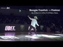 Boogie Frantick USA vs Firebac KOR ► Popping Final x Silverback Open 2017 x stance ◄