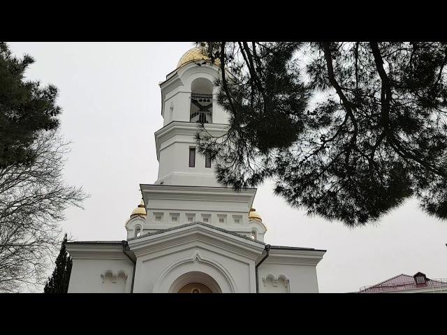 Колокольный звон Свято-Вознесенского кафедрального собора г.-к Геленджик.