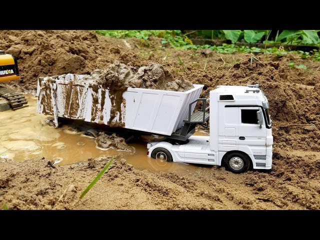 Excavator working videos Diggers for children   ConstructionTrucks for kids