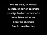 Paroles Gerard Lenorman Mich