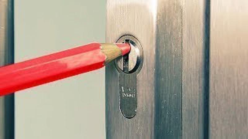 Anahtar Olmadan Kilitli Kapı Nasıl Açılır - 5 Süper Yöntem