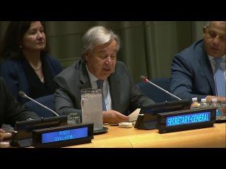 Генсек ООН объявил об открытии к подписанию Договора о запрещении ядерного оруж...