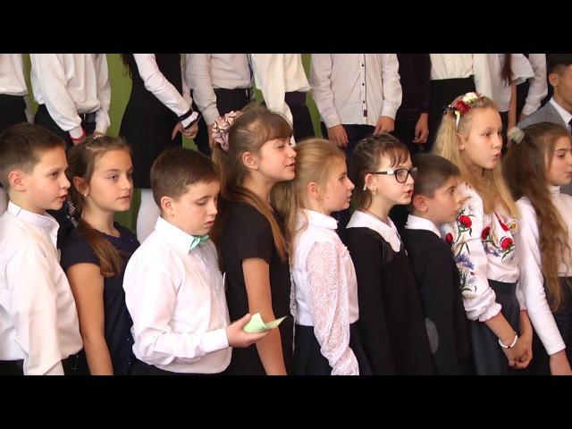 Традиційно на базі НВК-гімназії була проведена урочиста посвята в гімназисти