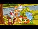 Рисовашки - Котик-Учитель 4-я серия. Мультики с детскими песнями