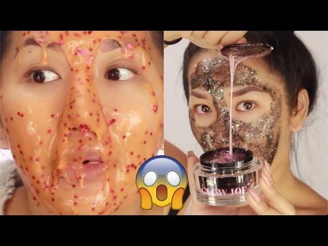 Best DIY Face Mask Compilation - Oily Skin, Dry Skin, Black Heads