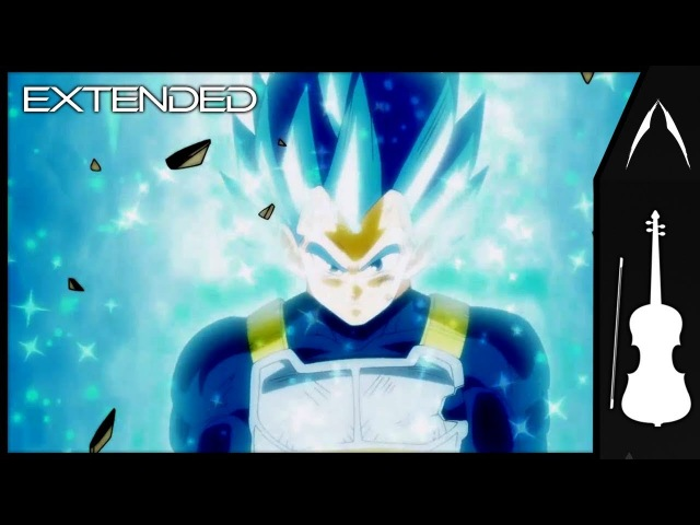 ❖ [Extended] Vegeta New Form / Royal Blue Theme│Dragon Ball Super OST 「 Orchestral Cover」