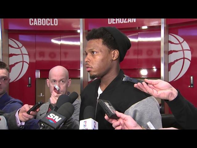 Kyle Lowry Postgame Interview | Pistons vs Raptors | January 17, 2018 | 2017-18 NBA Season