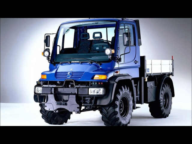Mercedes-Benz UniMog U300 Off-Road Test and UniMog U500 Black Edition by Brabus (5th Gear, United Kingdom)