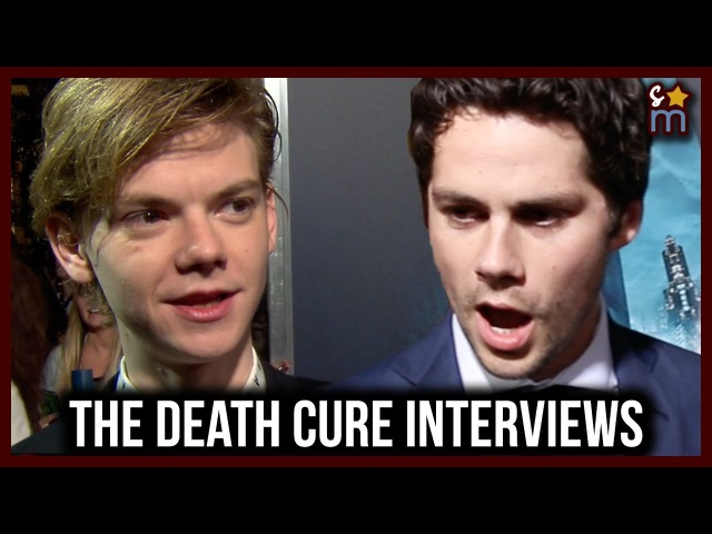Maze Runner: The Death Cure Cast Talk Working Together in the Future   Dylan O'Brien, Etc Interviews