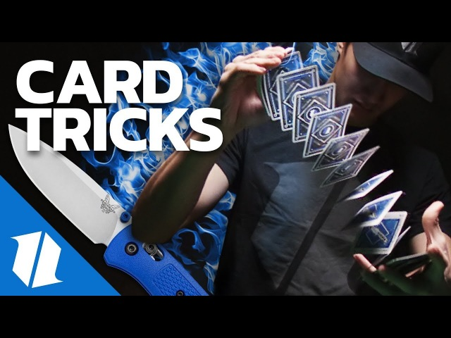 Knives and Card Tricks | Benchmade Playing Cards