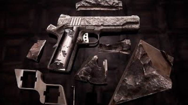 4.5 Billion-Year-Old Meteorite Transformed Into Pistols