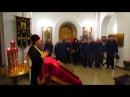 Погибшего в Сирии вертолетчика отпевали в Преображенсокм храме Бердска