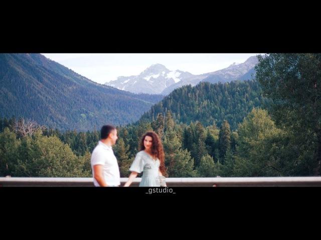Роман и Эмилия Love story в Архызе