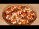 Баклажаны в духовке с мясом фаршем Запеканка из баклажан