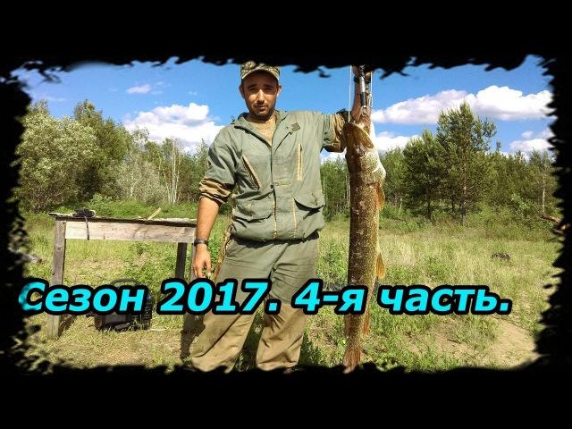 Сезон 2017 часть 4/9-4 месяца в Тайге.(Рыбалка,Щука 7кг,Коптим рыбу,Много окуня)