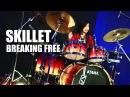 Skillet Breaking Free Drum Cover by Nur Amira Syahira