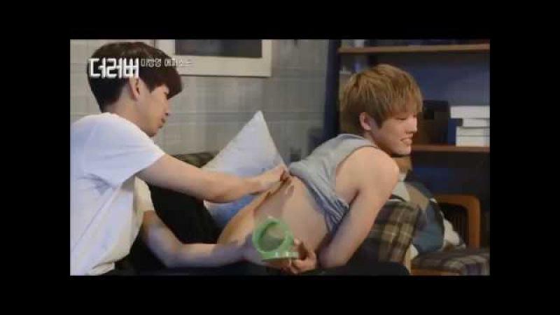 THE LOVER Сожители Takuya and Joonjae Вырезанная сцена