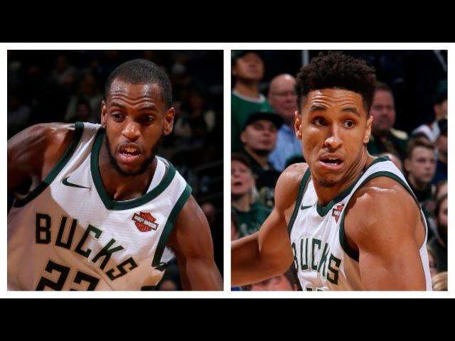 Khris Middleton and Malcolm Brogdon Combine For 67 Pts vs. Suns | January 22, 2018 NBANews NBA