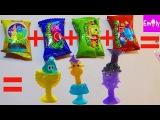 БОНСТИКИ 4 3 2 1  ДЕЛАЕМ НОВЫЕ бонстики 5 изменяем бонстиков режем игрушки