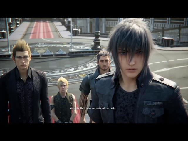 Final Fantasy XV: King Regis says goodbye to Noctis